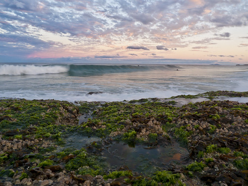 sunset clouds australia nsw lx3 vallabeach
