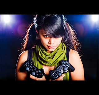 Gamer Chick | by Mustafa Sayed