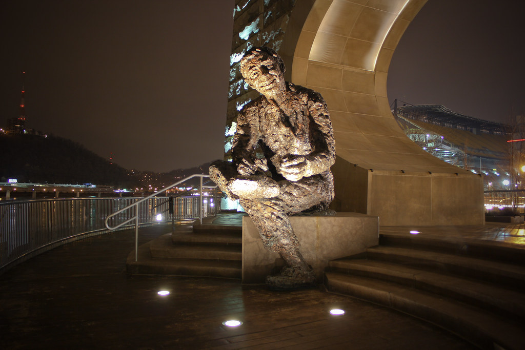 Mister Rogers Statue Pittsburgh Robert Berks Horrifying Flickr