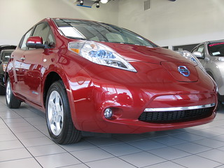 2011 Nissan Leaf | by chrishammond