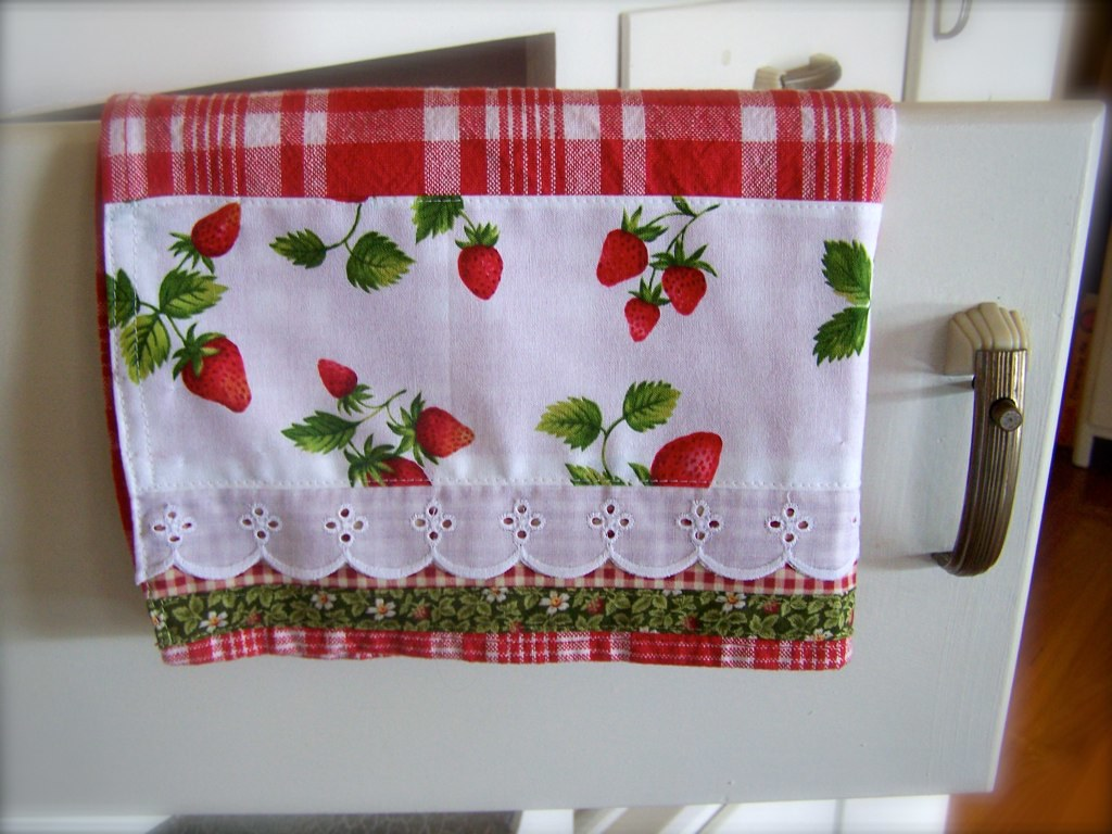 Strawberry Kitchen Decor This Tea Towel Reminds Flickr