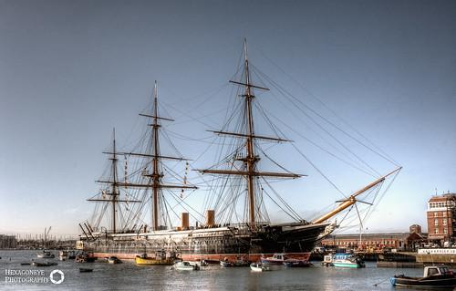 HMS Warrior | by Hexagoneye Photography