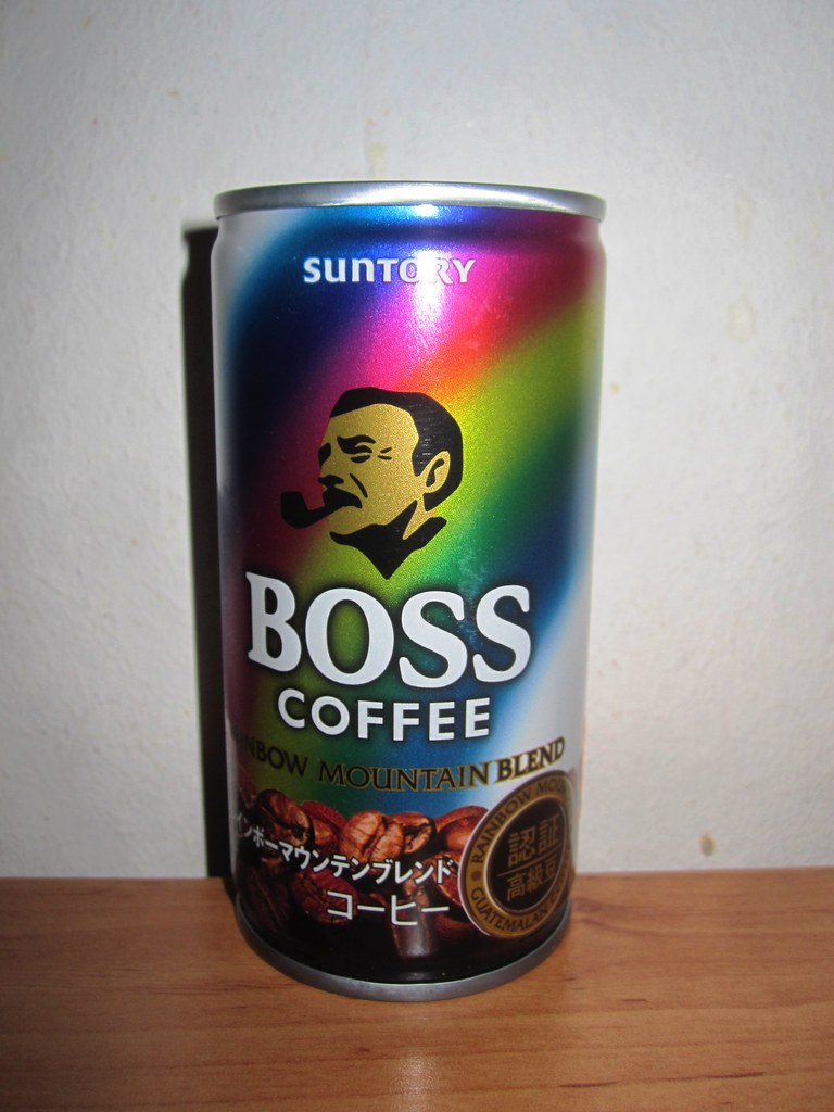 Suntory Boss Coffee Featured In Yakuza 3 I Had To Get It Like The Grand Canyon Flickr