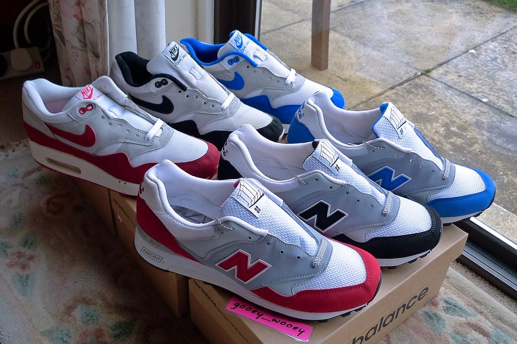 estilo limitado ropa deportiva de alto rendimiento sin impuesto de venta New Balance 577 x Overkill 'Berlin Pack' ('09) and Nike Ai… | Flickr