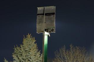 Streetlight shield - 3   View from my backyard  The shield i…   Flickr