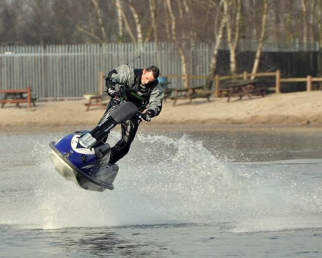 Kevin Thomas The Jet-Ski Stunt Rider And racer