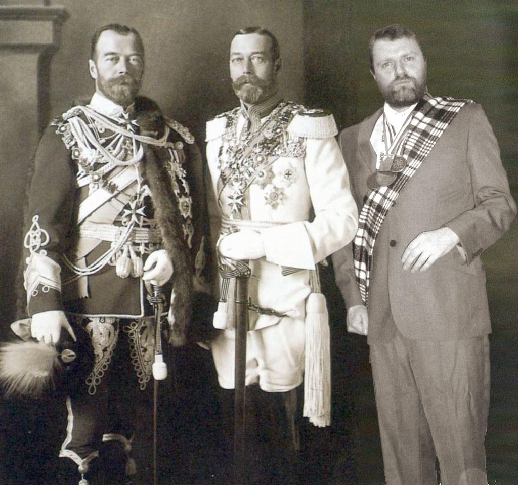 King George V Czar Nicholas Ii And Mr M Hyde Esq Flickr