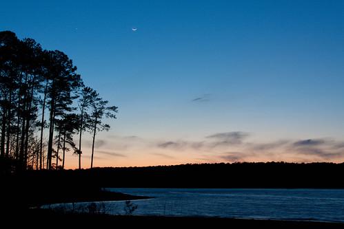 sunset lake wildwoodpark lakestromthurmond clarkshilllake