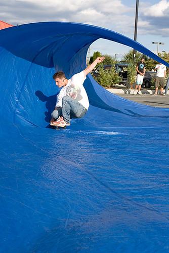 Jordan, tap surfing, Duncan