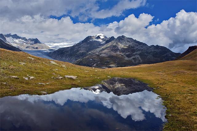 The Klein Furkahorn and the Rhône Glacier. No, 2259.