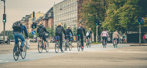 Copenhagen Cyclists | by Tony Webster