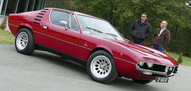 Alfa Bertone Montreal I.E. Sybele restauration Nielman Racing  29902251250_39ef841e8b_c