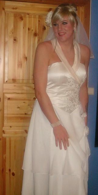 The blushing bride;)