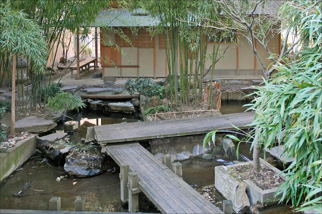 Le jardin japonais (musée Guimet)