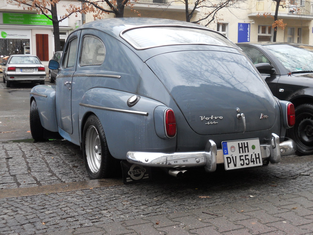 Volvo PV 544 B18   Katterug, 1961-1965 nl wikipedia org/wiki