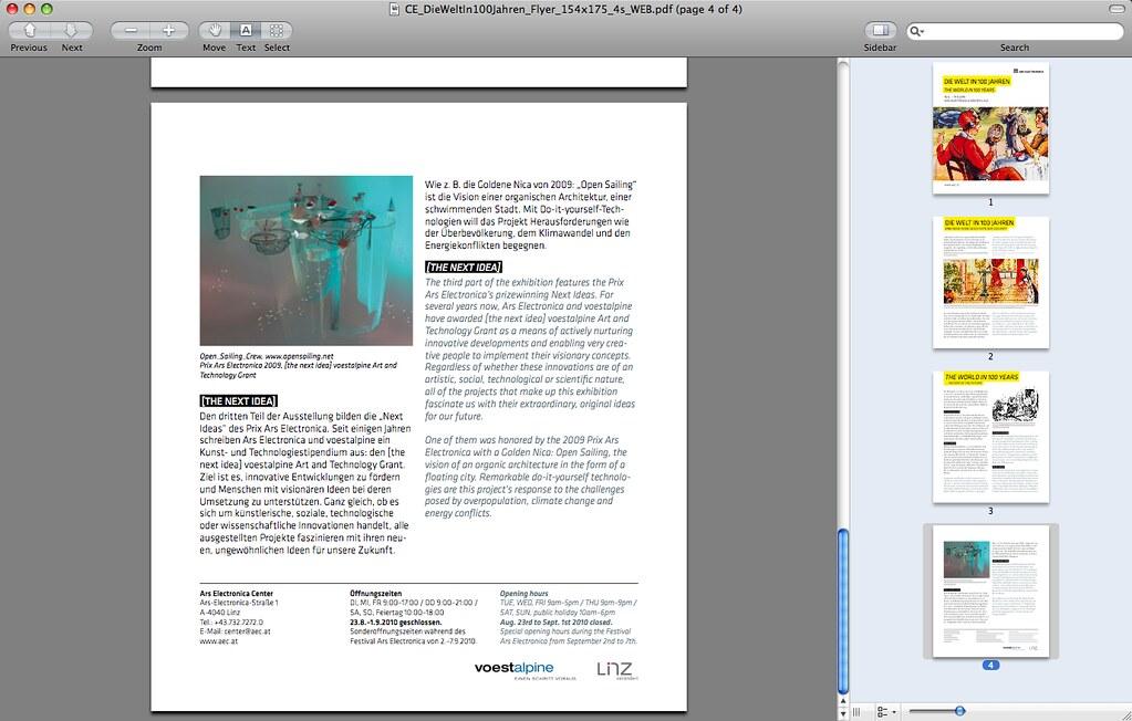 Open_Sailing @ Ars Electronica - die welt in 100 Jahren - the world in 100 years2  [Austria]