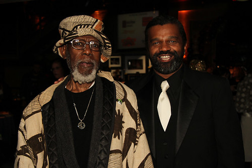 Harold Battiste, the New Orleans music legend, was in the house with Dwayne Breashears.