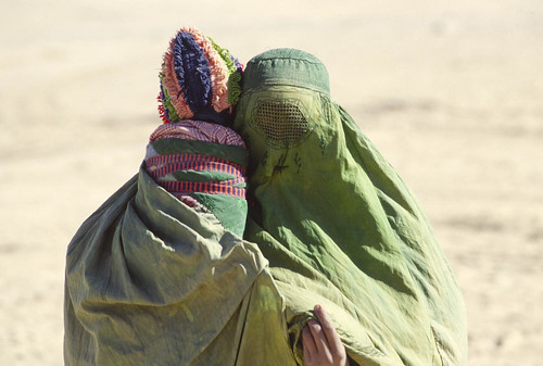 Afghan Refugees in Pakistani Border Town
