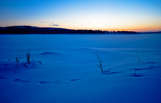 Sunrise in Lapland | by tomsbiketrip.com