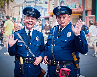 Men in Blue | by Peter E. Lee