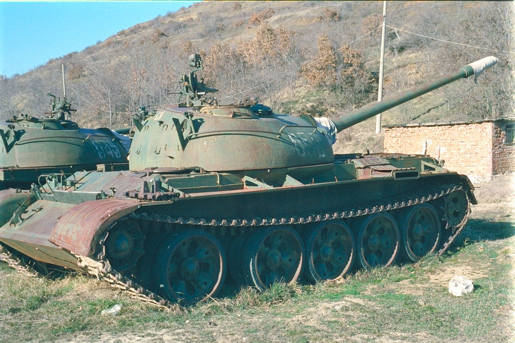 T-54 Albania March 2003 | T-54 at a storage depot in the Alb… | Flickr