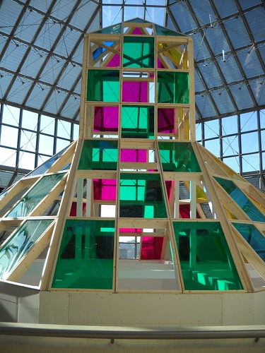 Daniel Buren: Architecture, contre-architecture : transposition   by tame_alien