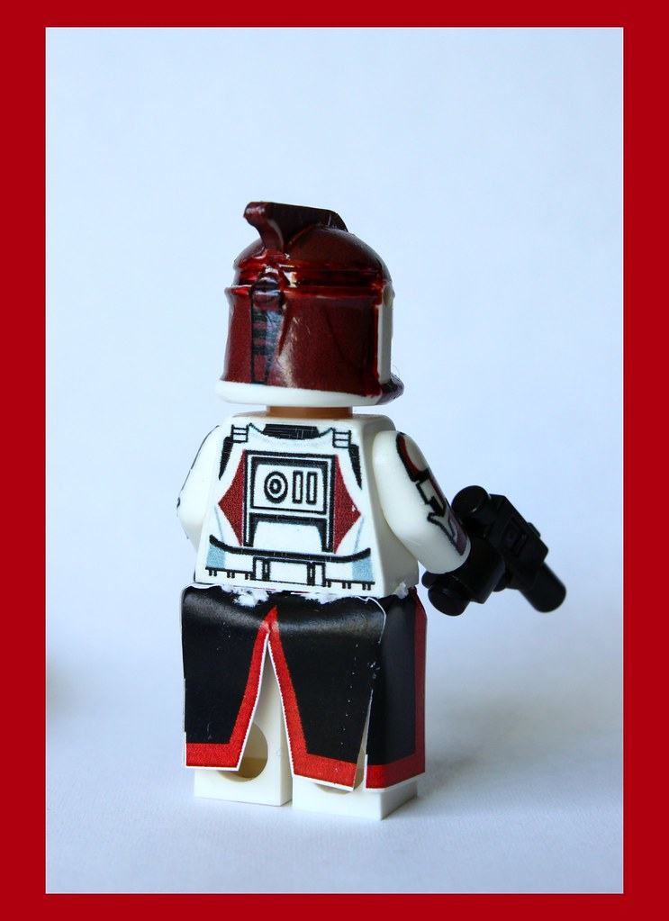 Lego Star Wars minifigures Clone Custom Troopers Commander Ponds