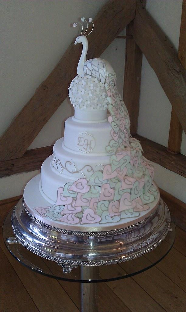 Peacock Wedding Cake.Peacock Wedding Cake My Very First Wedding Cake A Replica