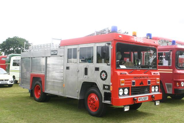 NTU515Y, Brecon Fire Brigade