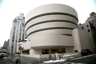 "New York City, Manhattan, Upper East Side : "" Solomon R. Guggenheim Museum "" 