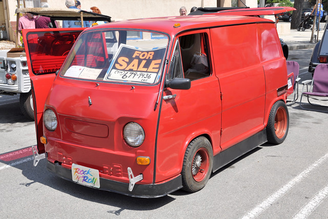 Subaru party van