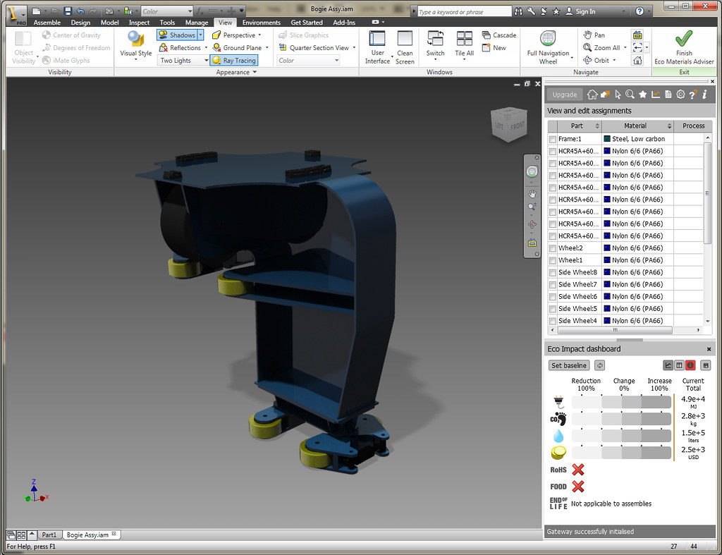 Autodesk Inventor 2012 - Sustainable Design | Autodesk Inven