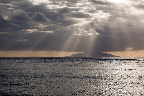 newzealand cloud sun water sunrise auckland northland nzl haurakigulf littlebarrierisland hauturu