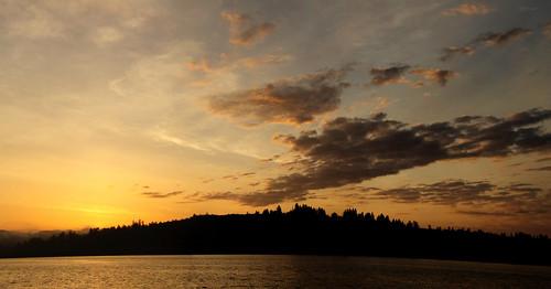 oregon sunrise landscape coosbay northbend