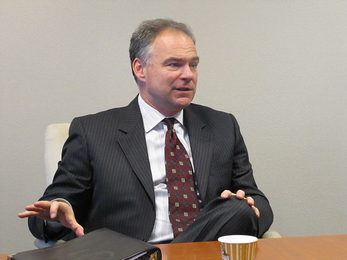 Virginia Senate Candidate Tim Kaine Visits the National Committee | by ncpssm