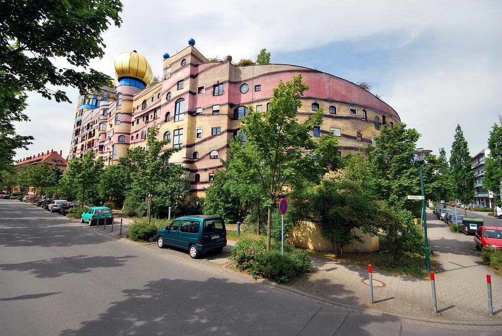 Waldspirale, Hundertwasserhaus, Darmstadt, Germany   Flickr