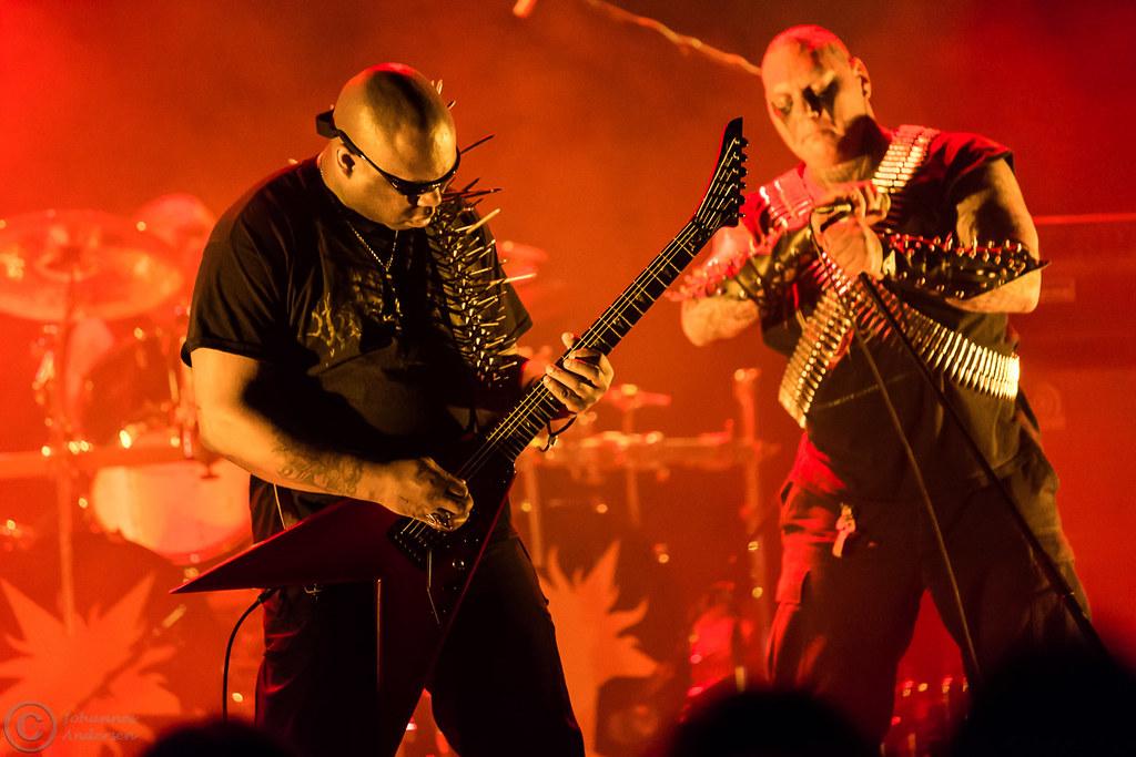 blasphemy live black metal le scribe du rock