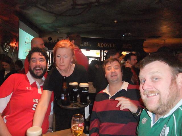 Rampage Continues - Gareth waitress Tom Brian