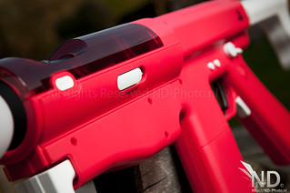 Release switch / Barrel closeup / Sony Sharp Shooter   by ND-Photo.nl