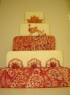 Henna Tattoo inspired Wedding Cake - www.tattoo-cakes.co.uk - Scunthorpe | by tattoo-cakes