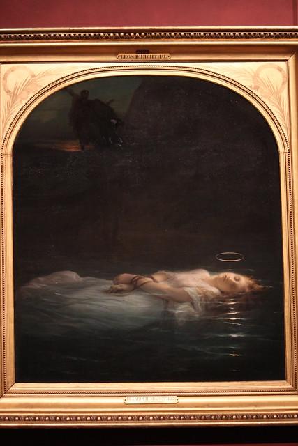 Paul Delaroche, La jeune martyre, 1855