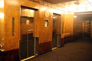 Queen Mary - Aft Elevators (Sealed Shut) - Promenade Deck | by Miss Shari