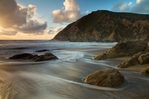 sanfrancisco california sunset beach water clouds pacificocean bayarea montara magichour devilsslide graywhalecovestatebeach ef24105mmf4lisusm nosausages desertednudebeach