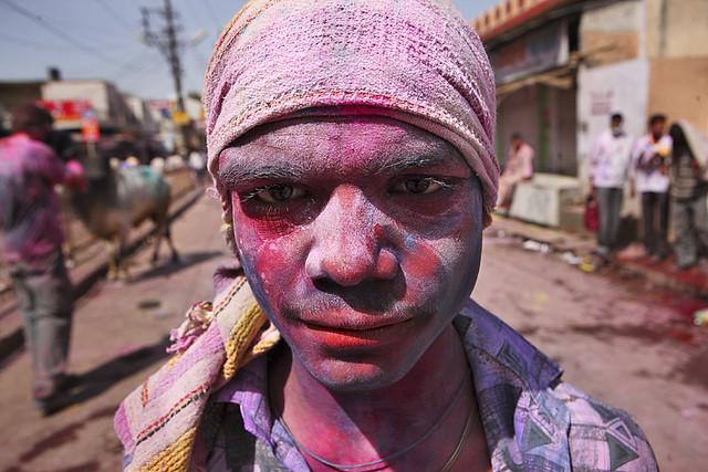 Holi Festival 2011, Mathura, Uttar Pradesh, India