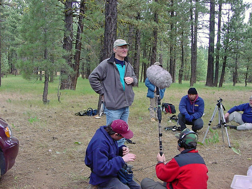 Don Kroodsma at the 2001 Sound Recording Workshop