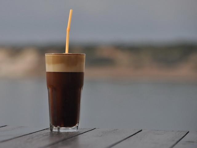 Frape iced coffee