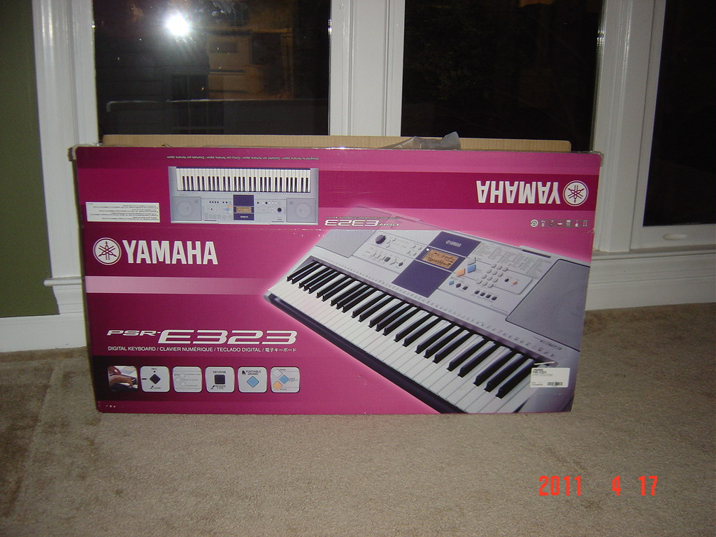 Brand New Yamaha PSR-E323 Portable Keyboard($150), + Yamah