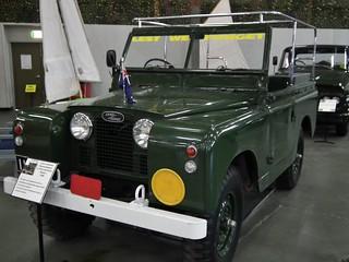 1958 Land Rover Series 2 SWB - Ceremonial Vehicle