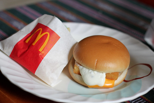 Filet-O-Fish and French Fries from McDonald's   by karlaredor
