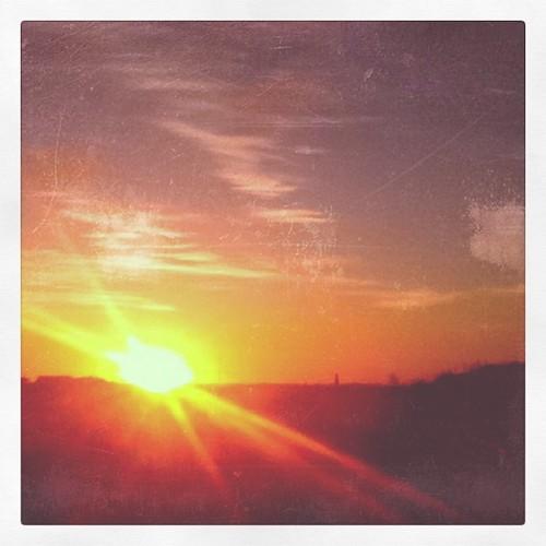 sunrise square ipod squareformat 1977 texansky iphoneography instagramapp